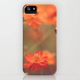 Orange III iPhone Case