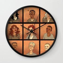 Inmates Wall Clock
