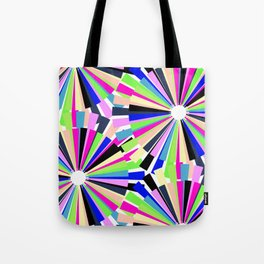 MULTI COLOURED WHEELS Tote Bag
