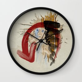 Please Don't Eat My Tacos Wall Clock
