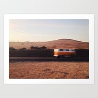blur Art Prints featuring Blur by Fleurdelilli