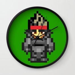 8bit Solid Snake Wall Clock