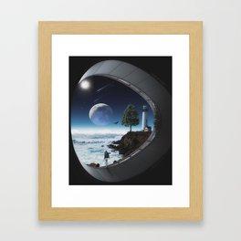 Sound Of Silence Framed Art Print