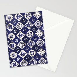Mexican Talavera Tiles Stationery Cards
