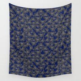 Night Butterfly Jewel Wall Tapestry