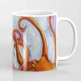 A connection in time octopus Coffee Mug