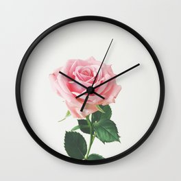 Spring Rose Wall Clock