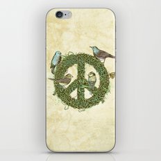 Peace Talks iPhone & iPod Skin