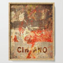 Cinzano - Vintage Vermouth Serving Tray