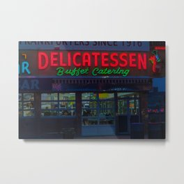 the Delicatessen Metal Print