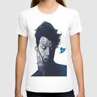 tom waits T-shirts featuring Tom Waits - Blue Valentines by Brad Collins Art & Illustration