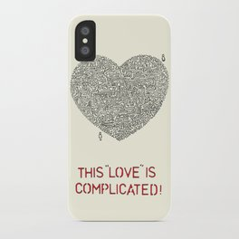Complicated iPhone Case
