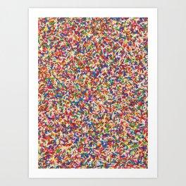 Rainbow Sprinkles Kunstdrucke