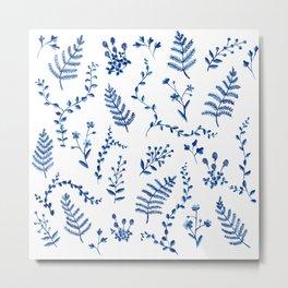 Forest Flora Metal Print