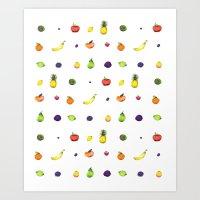 Fruit Faves Art Print