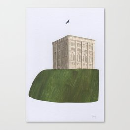 Norwich Castle Canvas Print