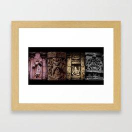 Ranganathaswamy temple Framed Art Print