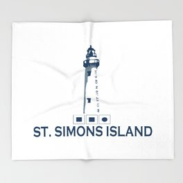 St. Simons Island - Georgia. Throw Blanket