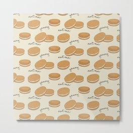 Brown cookies Metal Print