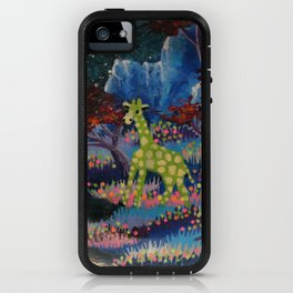 lonely giraffe iPhone Case