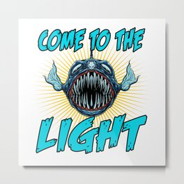 Come To The Light Metal Print