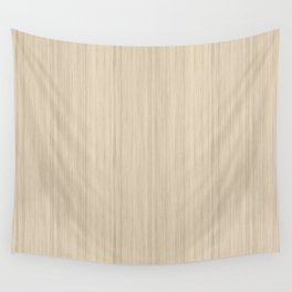 Beige / Tan / Neutral  Smooth Wood Grain Pattern Pairs To 2020 Color of the Year Chinese Porcelain Wall Tapestry