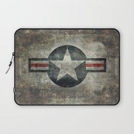 US Air force style insignia V2 Laptop Sleeve