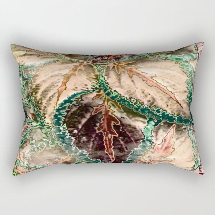 Amazing shiny leaves Rectangular Pillow