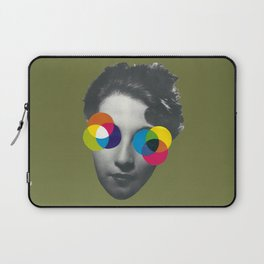 Psychedelic glasses Laptop Sleeve