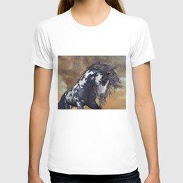 Storm, wild horse, fantasy T-shirt