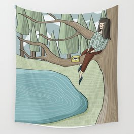 Reading Nook Wall Tapestry