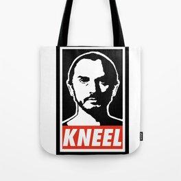 KNEEL Tote Bag