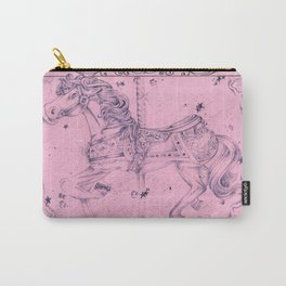 Pink Horse Carry-All Pouch