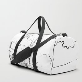 Architecture Handdcrafting Duffle Bag