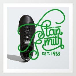 OG Kicks Series | Stan Smith Art Print