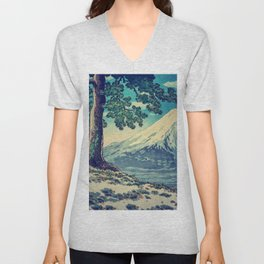 After the Snows in Sekihara Unisex V-Neck