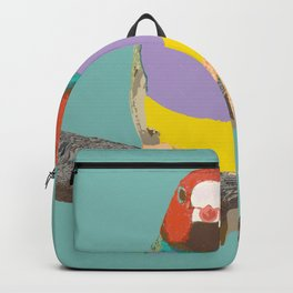 Gouldian Finch by Chrissy Wild Backpack