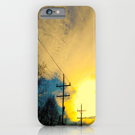 Telephone Trees iPhone & iPod Case