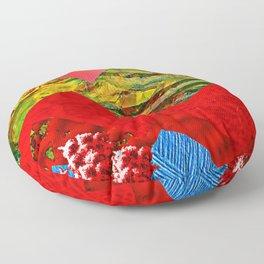Colorful Peaks Floor Pillow