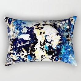 Urban decay - textured abstract I Rectangular Pillow