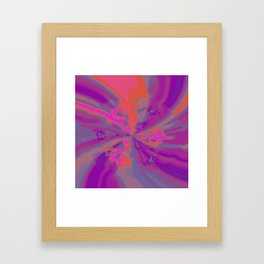 Psychedelica Chroma XXIII Framed Art Print