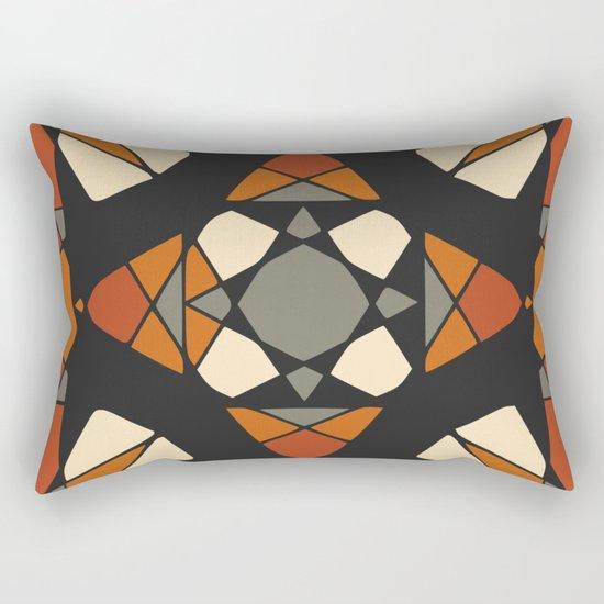 Mandala #1 Rectangular Pillow