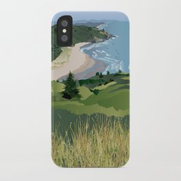 View from Cascade Head iPhone Case