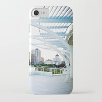 milwaukee iPhone & iPod Cases featuring Milwaukee by Andrea Coan