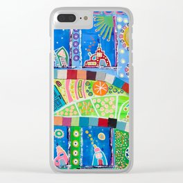 They're Coming To Take Me Away Clear iPhone Case