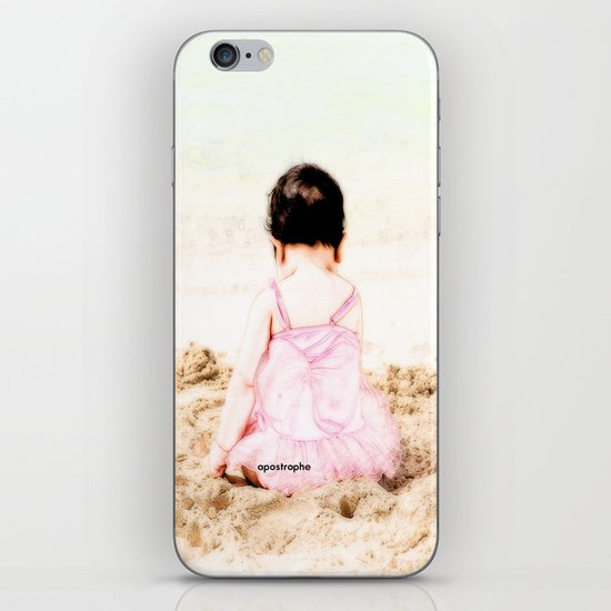 Baby at Beach iPhone & iPod Skin