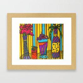 Mood Cafe Framed Art Print