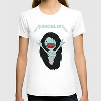marceline T-shirts featuring Metal Marceline by totemxtotem