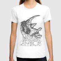 rhino T-shirts featuring Rhino by Julia Kisselmann