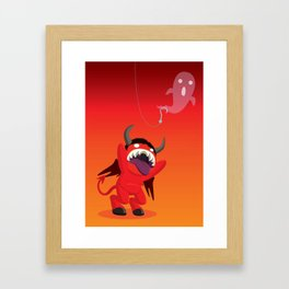 Soul Bait Framed Art Print